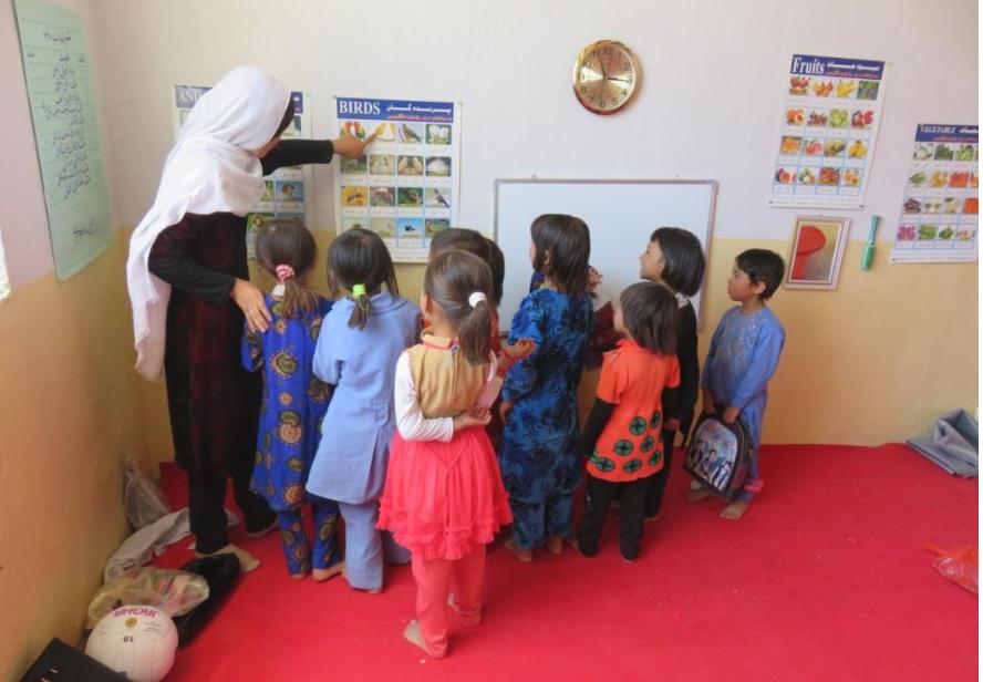 Début des classes d'éducation de la petite enfance