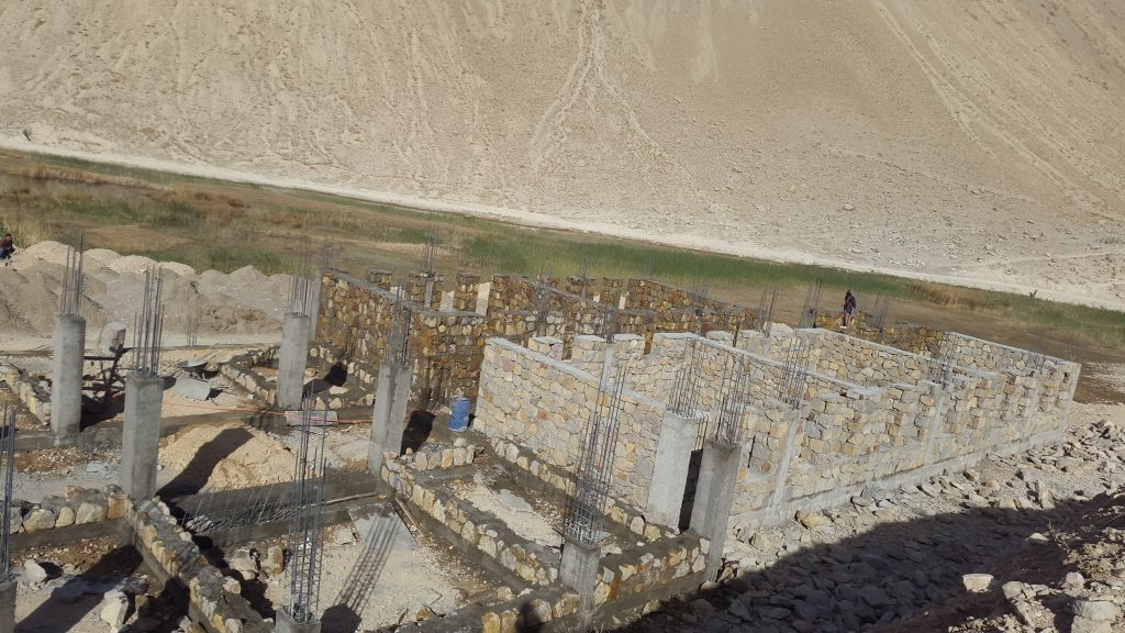 Work in progress in Sokhtagi
