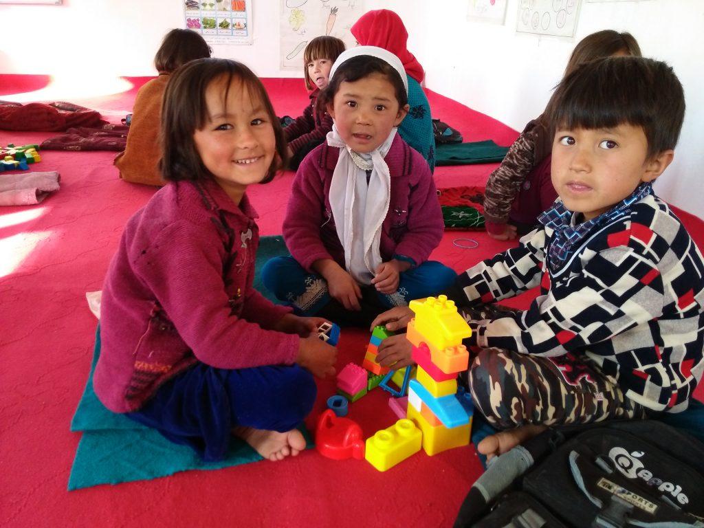 Pause hivernale à l'école des plus petits