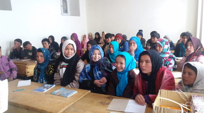 Thanks to Nai-Qala, girls can benefit from capacity-building course during the winter