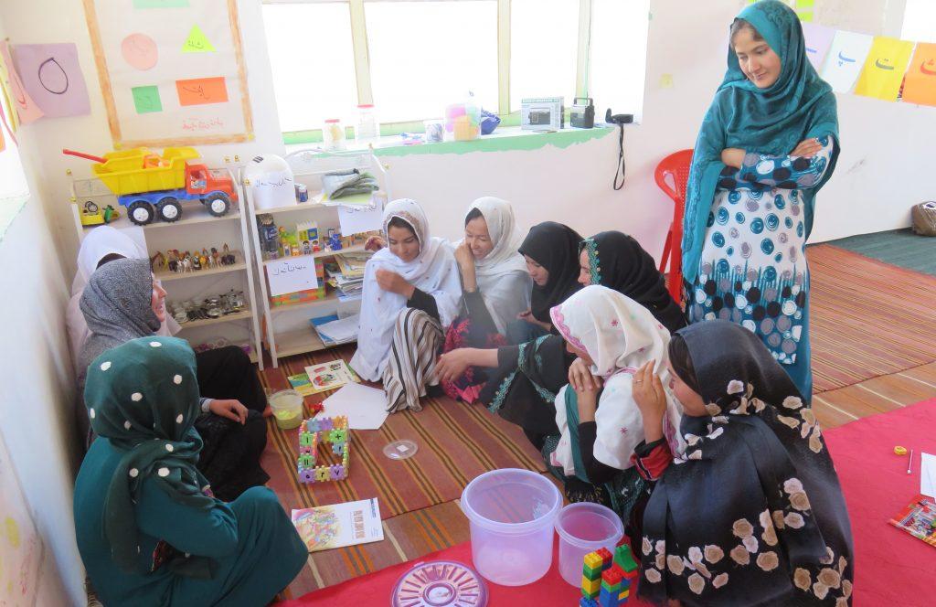 Formation d'éducatrices de la petite enfance